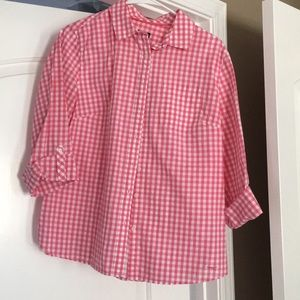 Talbots Button-down Classic Fit Blouse